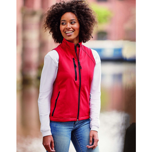 Russell Ladies Soft Shell Gilet