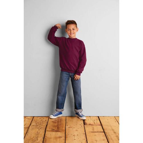 Gildan 18000B Heavy Blend Classic Fit Youth Crewneck Sweatshirt