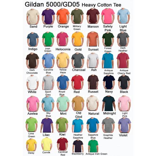 Gildan 5000-Heavy Cotton Tee