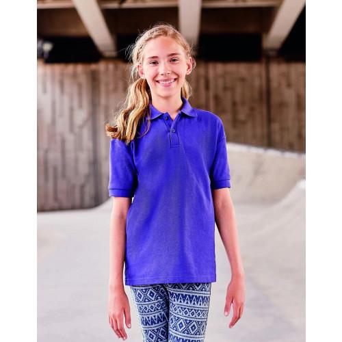 Jerzees Schoolgear Kids Poly/Cotton Piqué Polo Shirt