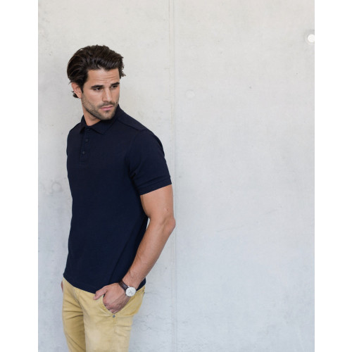 MENS TAILORED STRETCH POLO