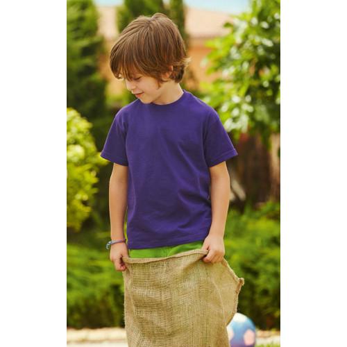 Fruit of the Loom Kids Valueweight Teeshirt