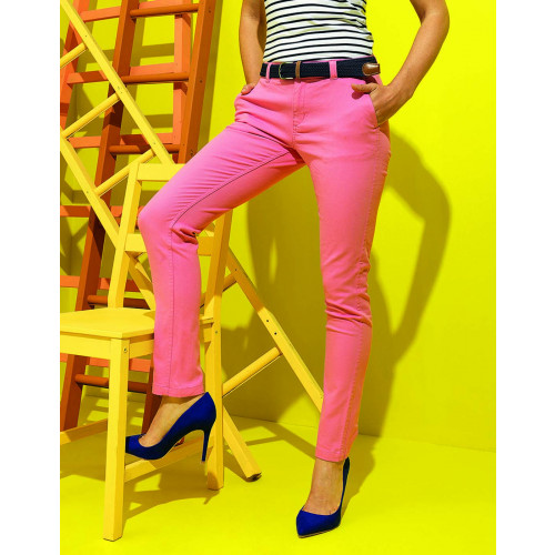 Asquth&Fox LADIES CLASSIC FIT CHINO