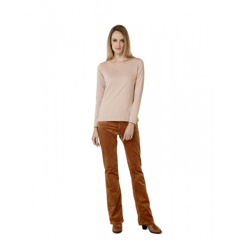 B & C E150 LONG SLEEVE T-SHIRT WOMEN