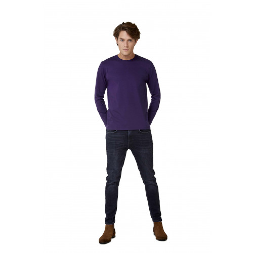 B & C E190 LONG SLEEVE T-SHIRT