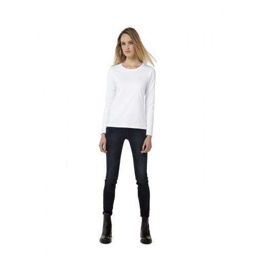 B & C E190 LONG SLEEVE T-SHIRT WOMEN