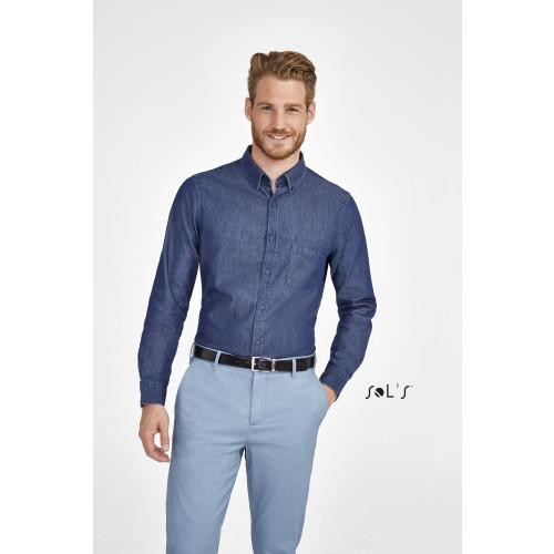 SOL'S BARRY Men's Denim Shirt