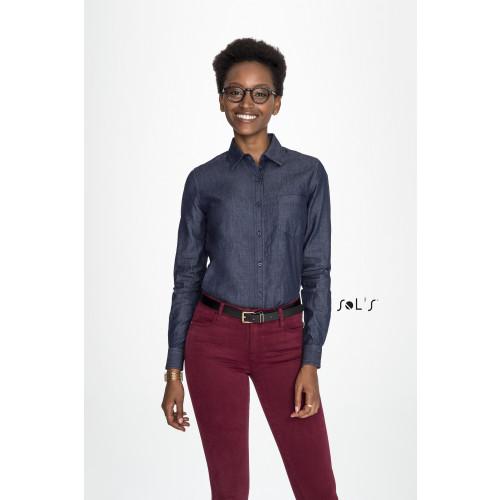 SOL'S BARRY Women's Denim Shirt