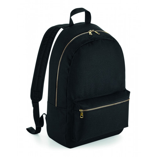 METALLIC ZIP BACKPACK