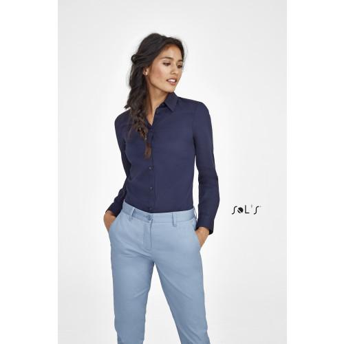 SOL'S BLAKE Women's Long Sleeve Stretch Shirt