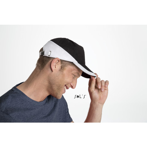 SOL'S BOOSTER Five Panel Contrasted Cap