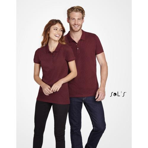 SOL'S BRANDY Men's Polka-Dot Polo Shirt