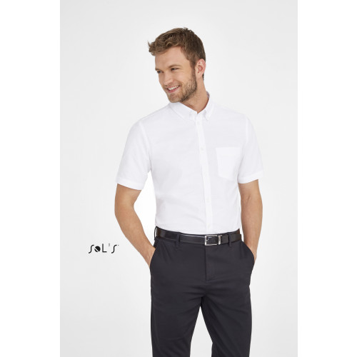 SOL'S BRISBANE FIT Short Sleeve Oxford Men's Shirt