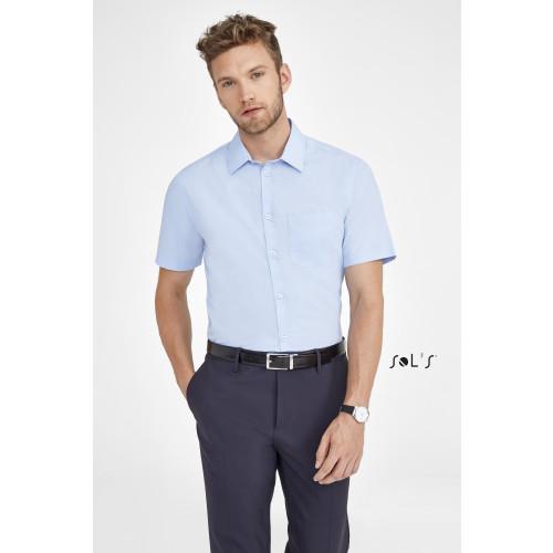 SOL'S BRISTOL FIT Short Sleeve Poplin Men's Shirt