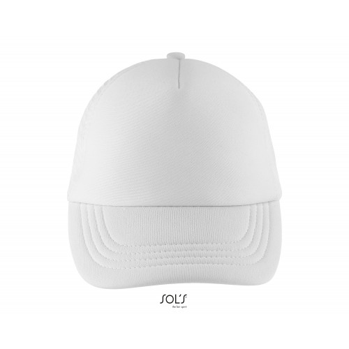 BUBBLE KIDS' FIVE PANEL MESH CAP