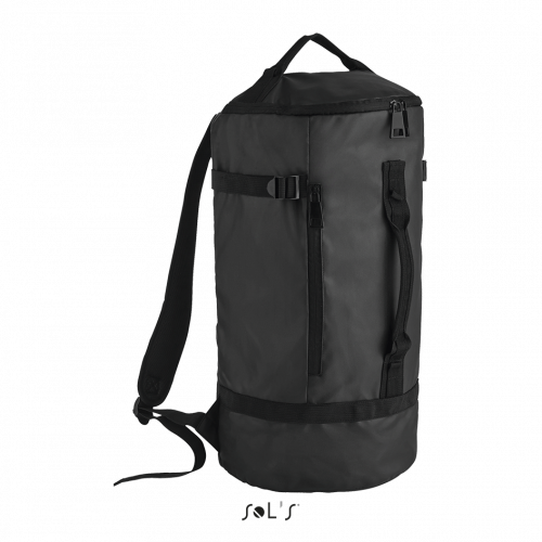 SOL'S CARBON Coated Canvas Backpack
