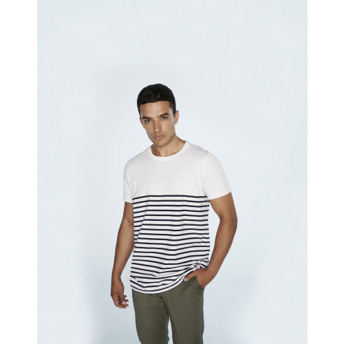 Front Row SHORT SLEEVED BRETON T SHIRT
