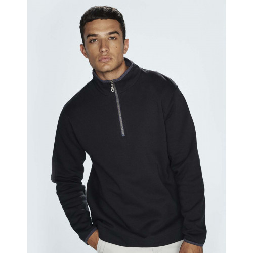 Front Row SUPER SOFT QUARTER ZIP SWEAT