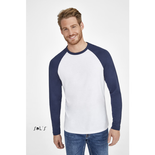 SOL'S FUNKY LSL Men's 2 Colour Long Sleeves T-Shirt