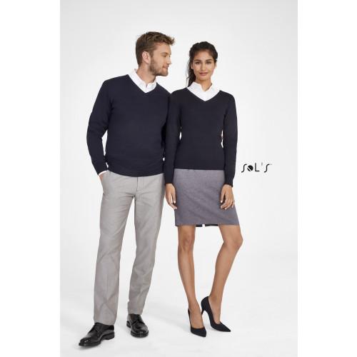 SOL'S GALAXY Men's V-neck Sweater