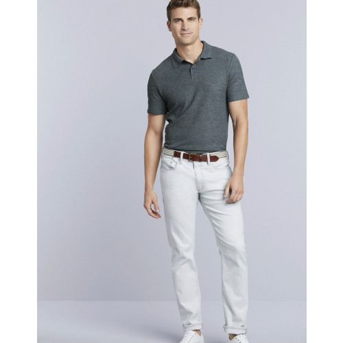 SOFTSTYLE DOUBLE PIQUE POLO