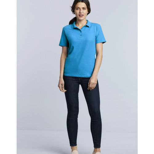 LADIES SOFTSTYLE PIQUE POLO