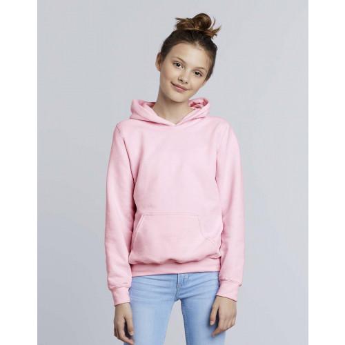 Gildan 18500B Heavy Blend Classic Fit Youth Hooded Sweatshirt