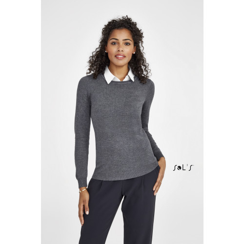 SOL'S GINGER Women's Round-Neck Sweater