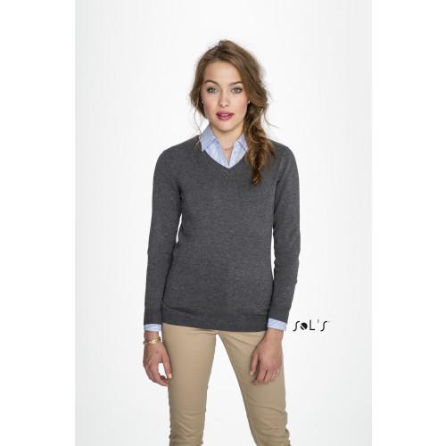 SOL'S GLORY Women's V-neck Sweater
