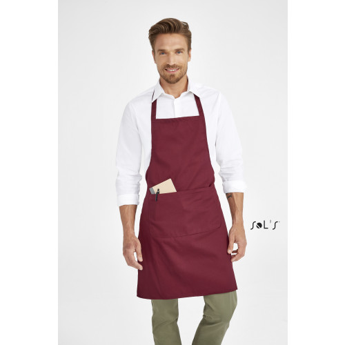 SOL'S GRAMERCY Long Apron with pocket