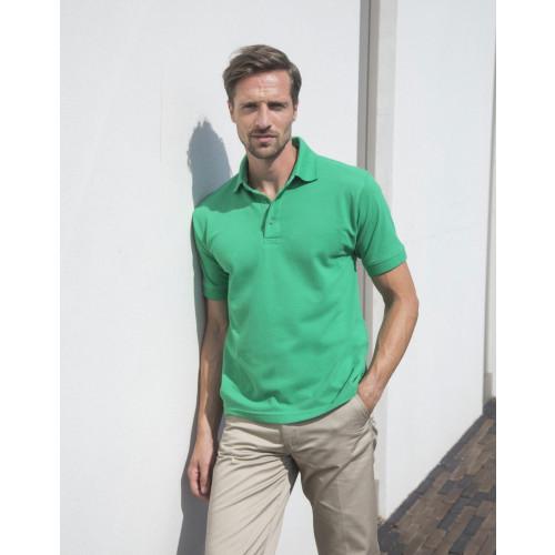 Heavy Poly/Cotton Piqué Polo Shirt