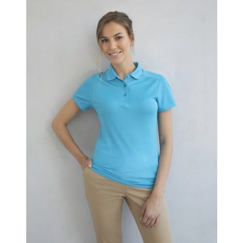 Henbury LADY STRETCH POLO WICK FINISH