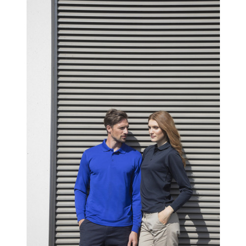 Henbury COOLPLUS LONG SLEEVE POLO SHIRT
