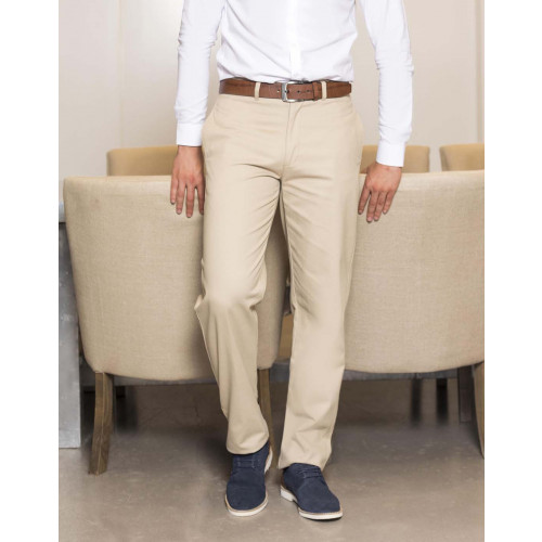 Flat Fronted Chino Trousers