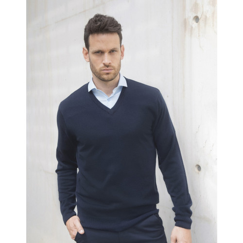 Henbury Acrylic V Neck Sweater
