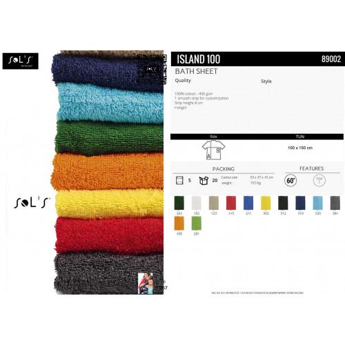 SOL'S ISLAND 100 Bath Sheet