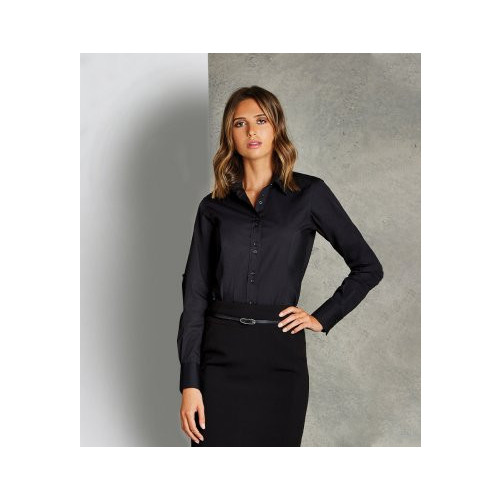 Ladies Long Sleeve City Business Shirt