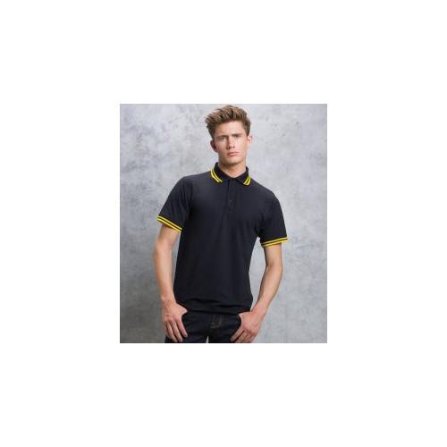 Contrast Tipped Poly/Cotton Piqué Polo Shirt