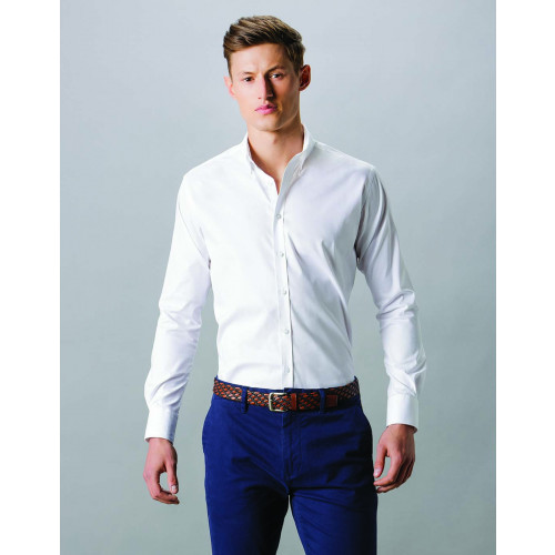 SLIM FIT STRETCH OXFORD L/S