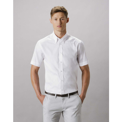 Short Sleeve Tailored Premium Oxford Shirt
