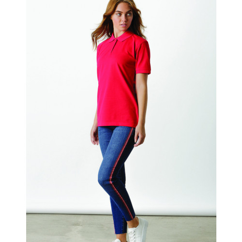 Kustom Kit Ladies Klassic Poly/Cotton Piqué Polo Shirt