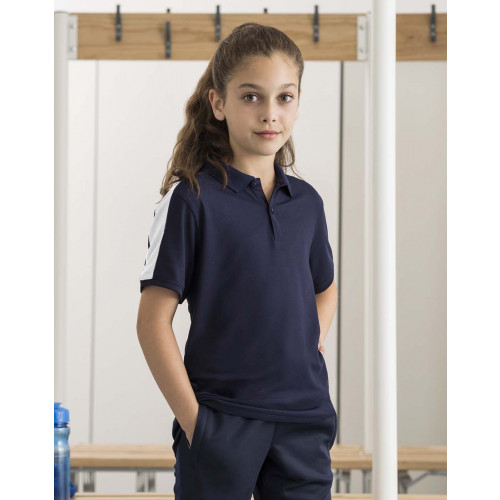 KIDS CONTRAST PANEL POLO