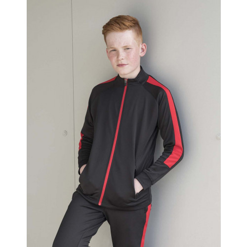 KIDS KNITTED TRACKSUIT TOP