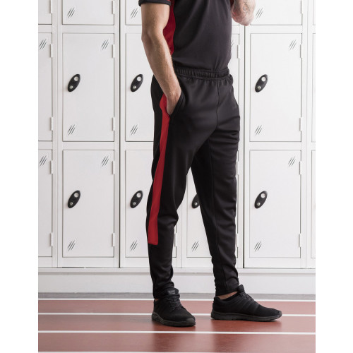 Finden and Hales ADULTS KNITTED TRACKSUIT PANTS
