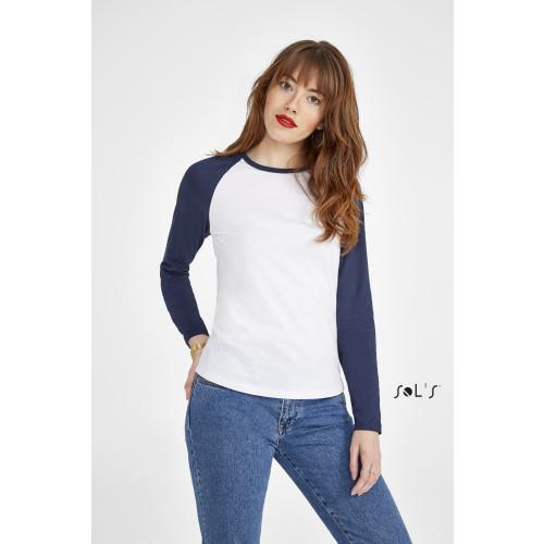 SOL'S MILKY LSL Women's 2 Colour Long Sleeves T-Shirt