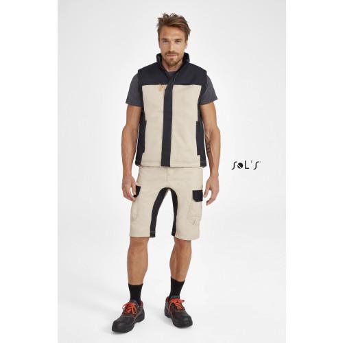 SOL'S IMPULSE PRO Men's Two-colour Workwear Bermuda Shorts
