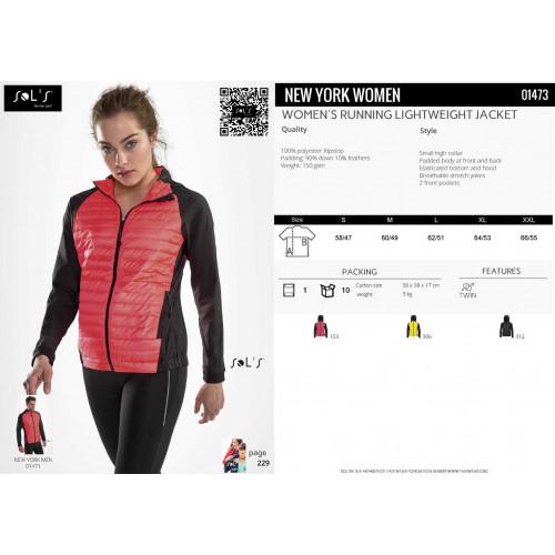SOL'S NEW YORK Women's Running Lightweight Jacket