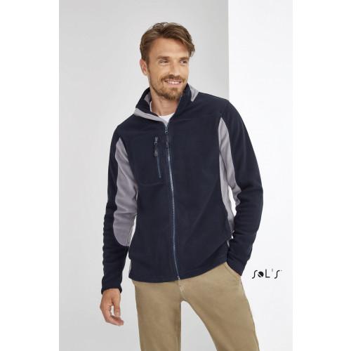 SOL'S NORDIC Men's 2 colour Zipped Fleece Jacket