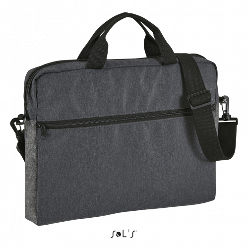 SOL'S PORTER Dual Material Briefcase