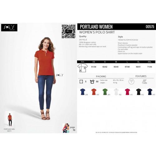 SOL'S PORTLAND Women's Polo Shirt